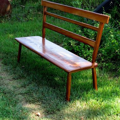 Custom Made English Country Bench