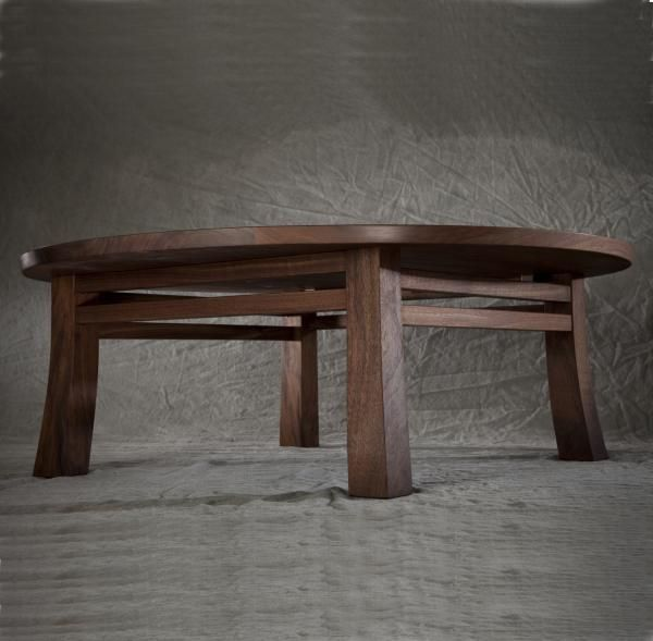hand made japanese chabudai table by david rasmussen design
