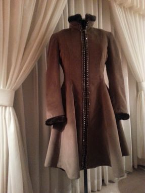 Custom Made Princess High Low Coat