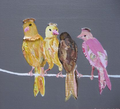 Custom Made Papered Canaries Limited Edition Print