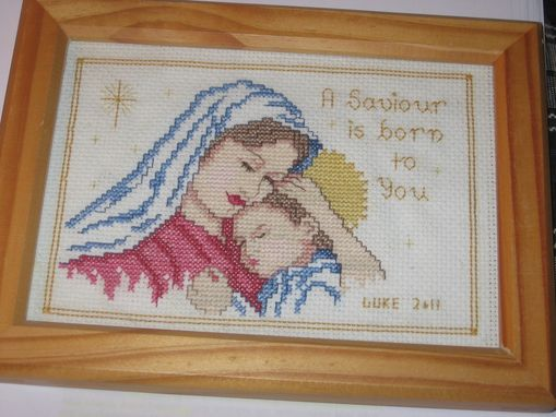 Custom Made Christmas Cross-Stitches (Multiple Styles)