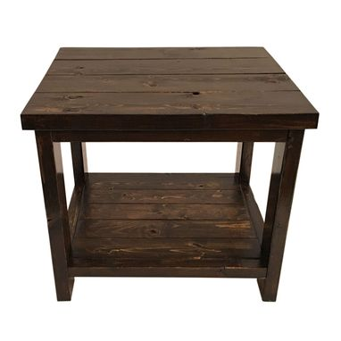 Custom Made Side Table - Locally Handcrafted Furniture From Nashwood