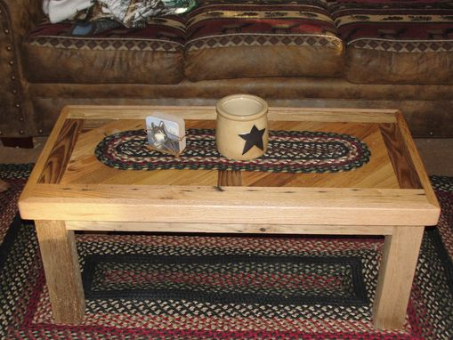 Custom Made Reclaimed Chestnut & Oak Coffee Table