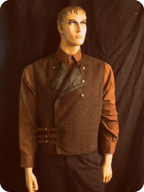 Custom Made Steampunk/Victorian Style Men's Vest