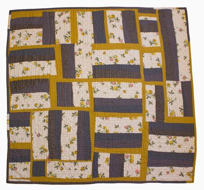 Custom Made Hand Quilted Bed Quilt