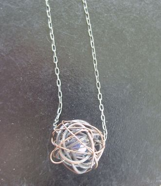 Custom Made Ball Moss Necklace