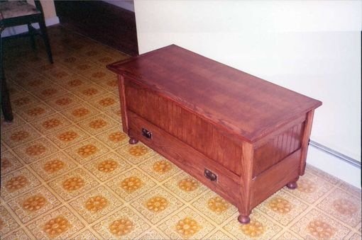 Custom Made Mission Style Blanket Chest