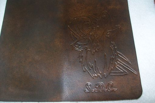 Custom Made Custom Leather Biker Wallet