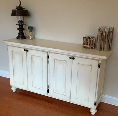 Custom Made Sideboard (Buffet Table) With Storage Underneath