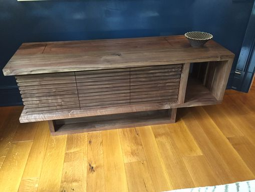 Custom Made Hidden Tv Credenza