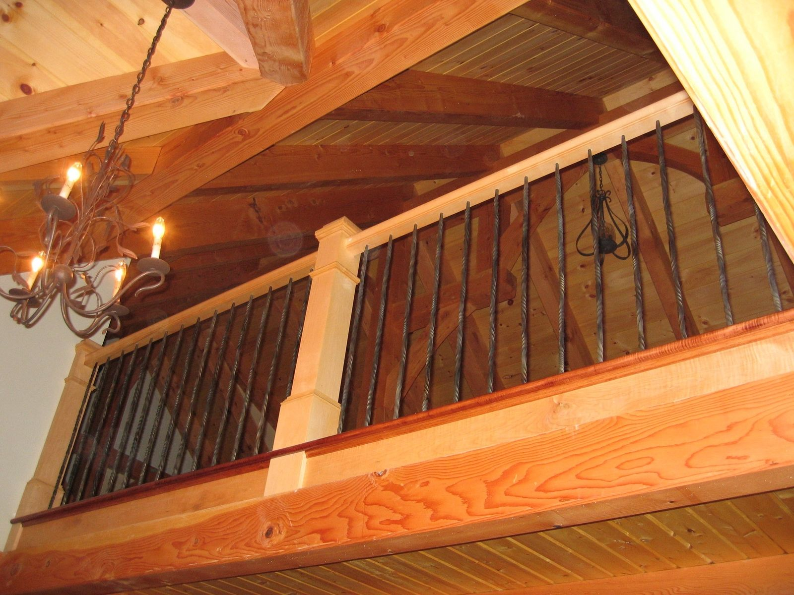 Custom Stair Railing Custom Stair Railing Balusters By Forge On Metalworks Custommadecom