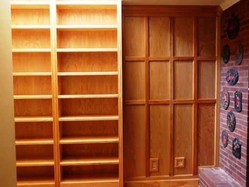 Custom Made Tall Bookcases
