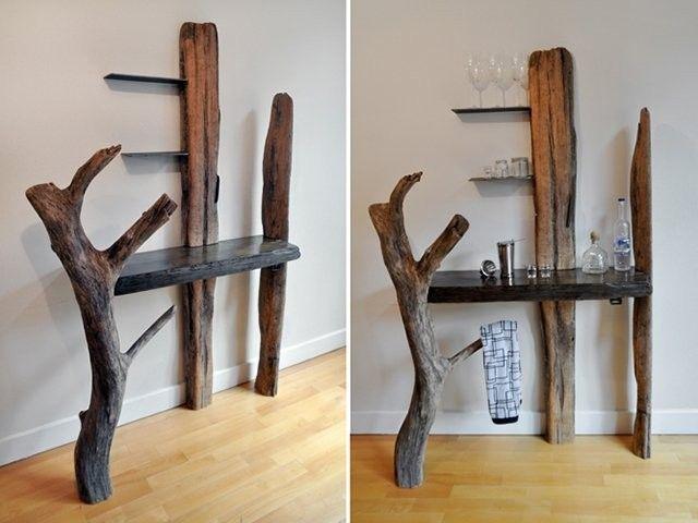 Handmade Driftwood Bar By Drew Lambert Designs