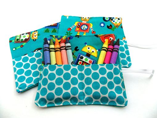 Custom Made Party  Or Wedding Favors. Crayon Wallets. Party Pack