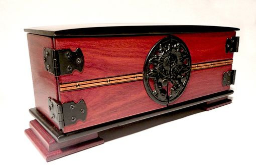 Custom Made Aja – A Box Inspired By A Steely Dan Song.