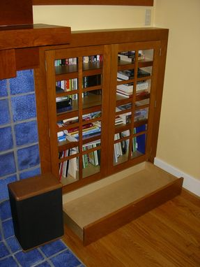 Custom Made Arts And Crafts Bookcase