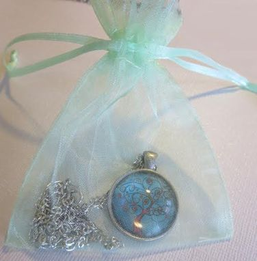 Custom Made Whimsical Vintage Steampunk Bookworm, Steampunk Shabby Chic Nature Jewelry Pendant Necklace