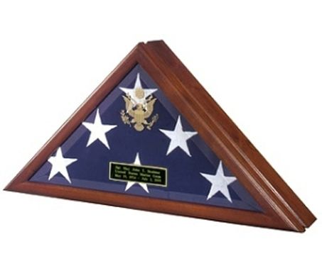Custom Made Presidential Flag Case, Memorial Flag Display Case