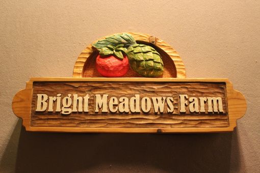 Custom Made Custom Carved Wood Signs, Home Signs, Cabin Signs, Cottage Signs, Farm Signs, Business Signs