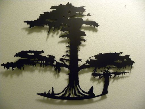 Custom Made Oval Cypress Tree Of Life