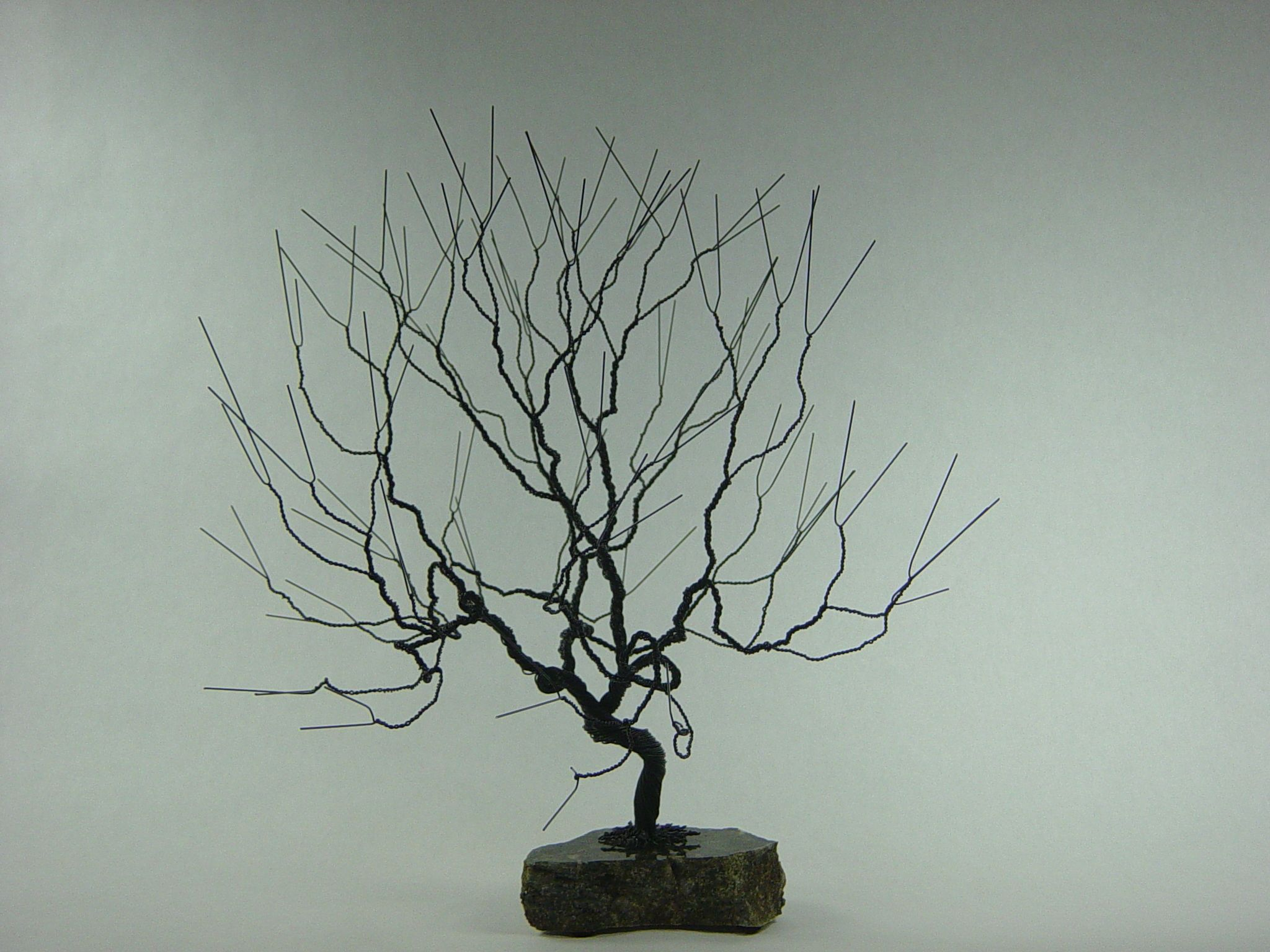 Buy A Hand Made Small Natural Wire Bonsai Tree Sculpture To What Does Wiring Do Custom