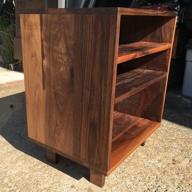 Stereo Or Console Cabinet Walnut