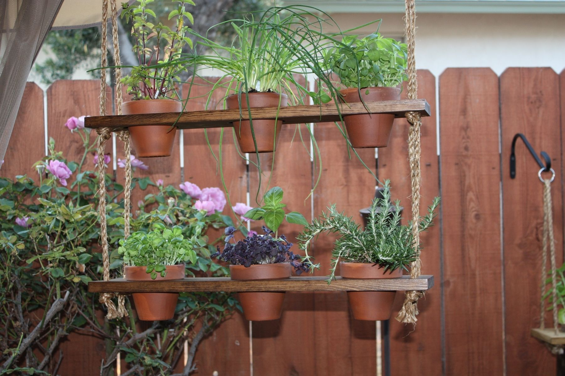 Handmade Hanging Herb Garden by Which Krafts | CustomMade.com