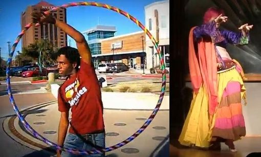 Custom Made Super Custom Bespoke Hula Hoop - Weighted, Collapsible, Travel