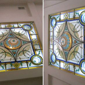 Custom lighting custommade stained glass sky lights by alex mitroff aloadofball Gallery