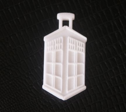 Custom Made Dr Who Pendant Or Car Mirror Hanger