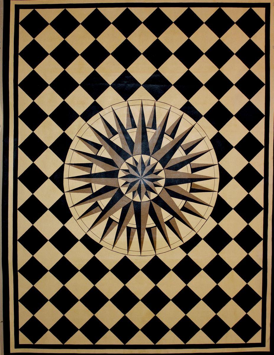 cottage cloth cloths shop vinyl runner spicher floor floors charcoal lattice home