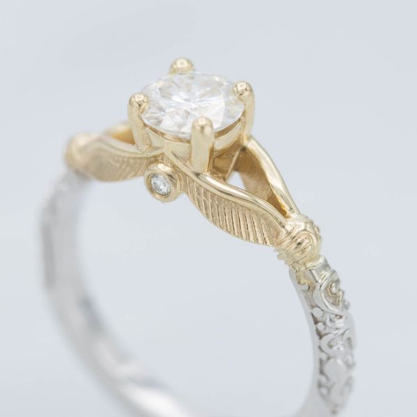 inspired wedding anime rings blushingblonde