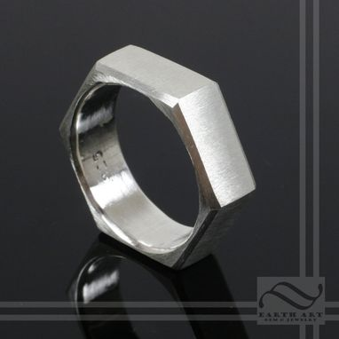 Custom Made Hexagonal Ring