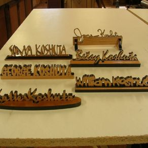 personalized desk name plates