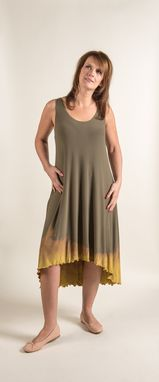 Custom Made Hand Diped Bamboo Tank Dress