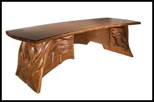 Custom Made Sculpted Executive Desk