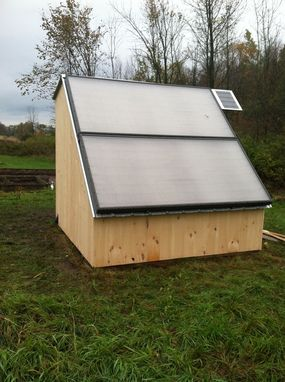 Custom Made Solar Shed