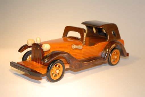 Custom Made Wood Car