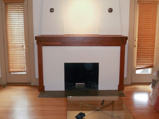 Custom Made Cherry Mantle