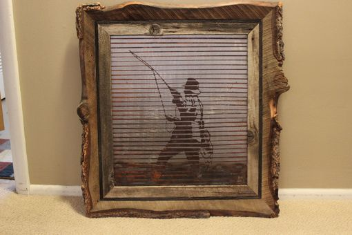 Custom Made Rusted Metal Art