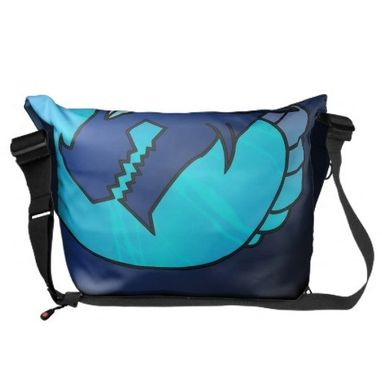 Custom Made Barroth The Dragon Magician Messenger Bag (Large)