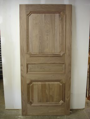 Custom Made Interior Walnut Door