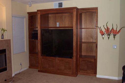 Custom Made Entertainment Cabinet
