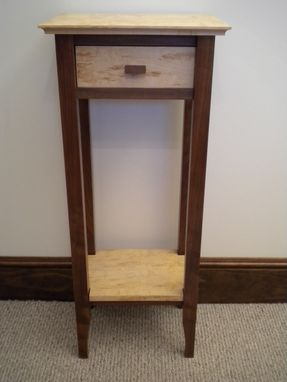 Custom Made Post And Frame Display Table