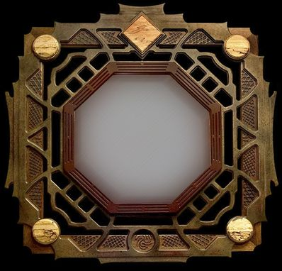 Custom Made Ba-Gua Mirror Frame