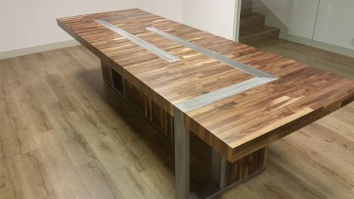 Custom Made Modern Conference Table