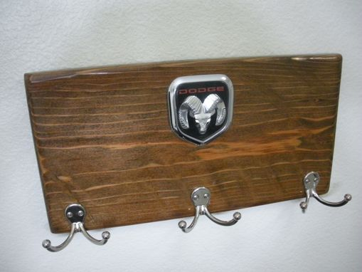 Custom Made Automotive Inspired Emblem Coat Racks