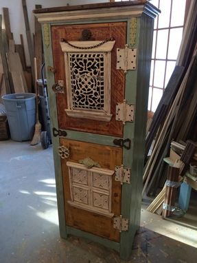 Custom Made Steampunk Cupboard
