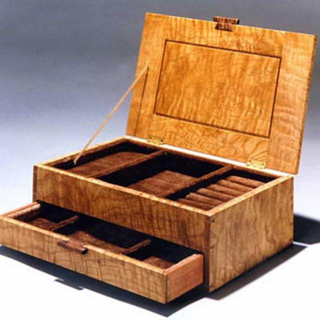 Wood jewelry box designs style guru fashion glitz for Www coolplans com