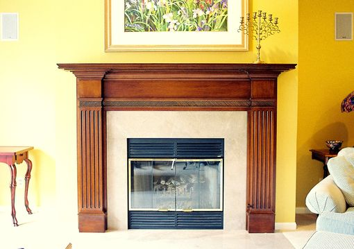Custom Made Fireplace Mantels In Maple Oak Cherry & Pine